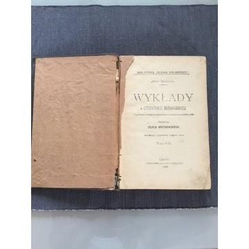 Wykłady o literaturze słowiańskiej Mickiewicz 1900