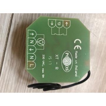 Włącznik radiowy rolet Portos XT-R podtynkowe