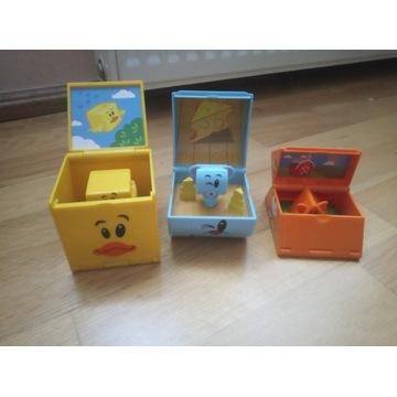 Klocki zabawki dla najmłodszych Playskool