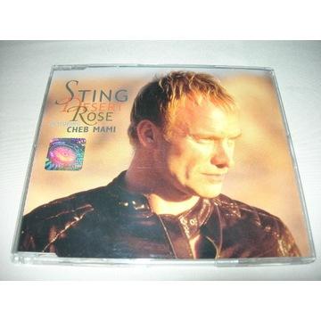 STING DESERT ROSE (FEATURING CHEB MAMI) CD SINGLE