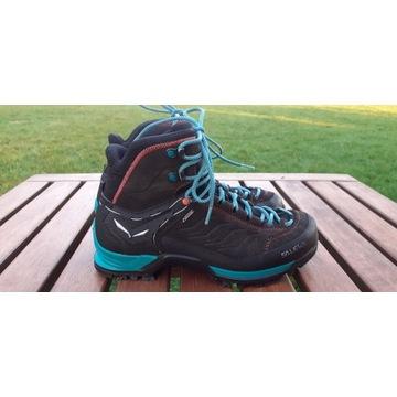 Wysokie buty trekkingowe Salewa MTN Trainer GTX 39