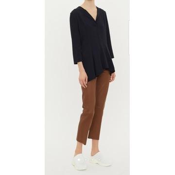 Sprzedam spodnie skórzane brązowe 36(S) By Malene