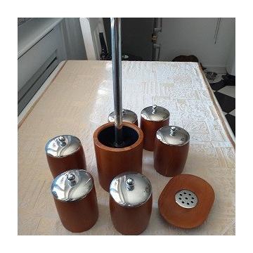 zestaw łazienkowy bambus