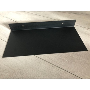 Półka czarna loft
