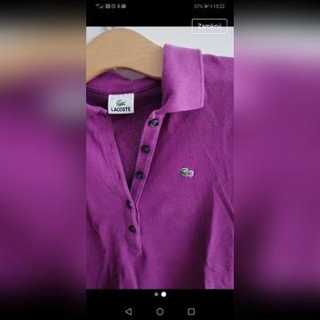 Nie zniszczona koszulka Lacoste 38