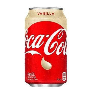 Coca cola Vanilla waniliowa z USA 355ml puszka