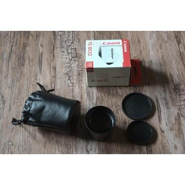 Telekonwerter Canon na obiektyw filtr 52mm