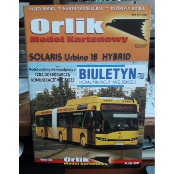 Solaris Urbino Hybrid 1:43. Orlik.