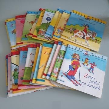Mądra mysz - Zuzia .... zestaw 27 książek