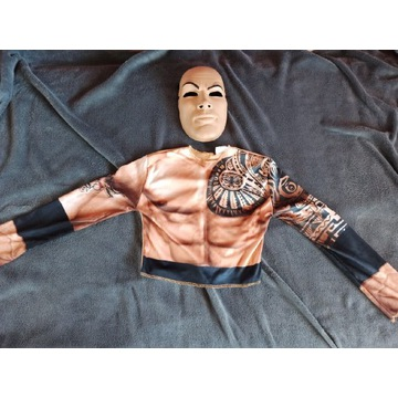 WWE WWF Wrestling maska Dwayne THE ROCK Johnson