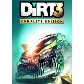 Dirt 3 (Complete Edition) kod steam + Bonus