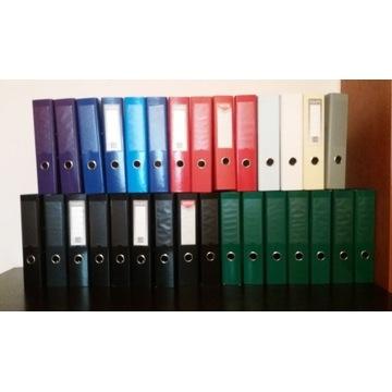 Segregatory używane A4 70mm różne kolory