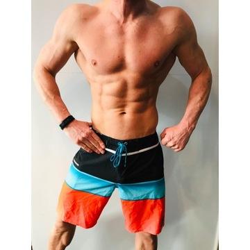 SHORTY Fitness plażowy QUIKSILVER SPODENKI