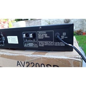 Wzmacniacz Karaoke Dixon AV2200SD