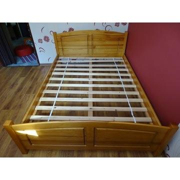 Łóżko drewniane 140x200 okazja 70% zniżki