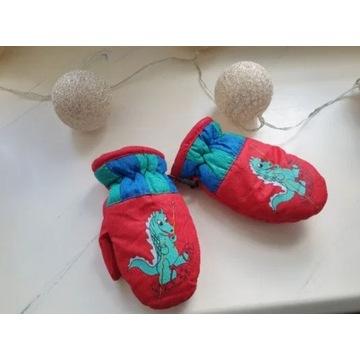 Rękawiczki zimowe dla ok. rocznego dziecka