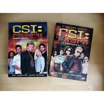 DVD CSI Miami sezon 3 oraz 4