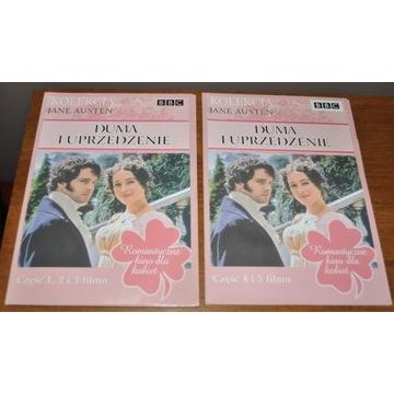 Duma i uprzedzenie - Kolekcja Jane Austen- 5VCD