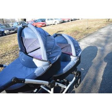 Wózek Bebetto 42 - bliźniaczy lub rok po roku