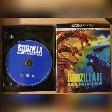 Blu-Ray: Godzilla II: Król potworów (2019) PL
