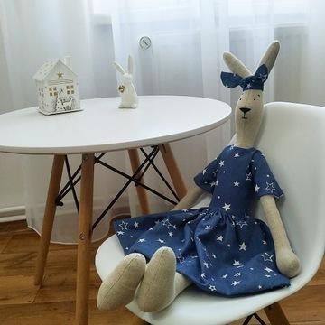 Królik 100% ręcznie robiony handmade lalka