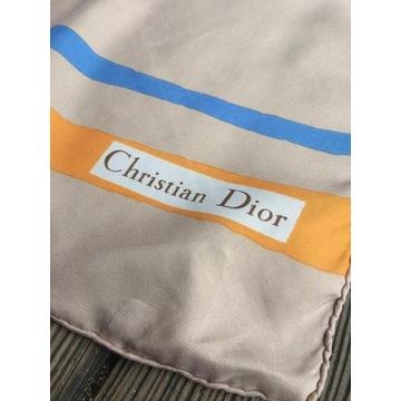 Chusta apaszka vintage Christian Dior jedwab