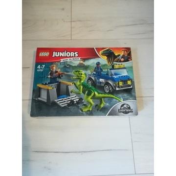 Lego Jurassic World Na ratunek Raptorom 10757- Now