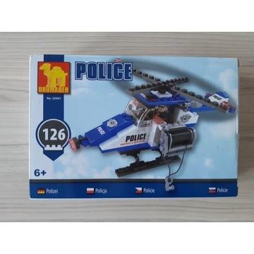 Zestaw klocków Dromader POLICE (Nowy)