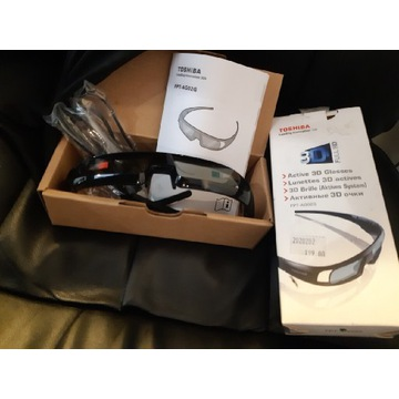 Okulary 3D Toshiba FPT-AG02G Nowe