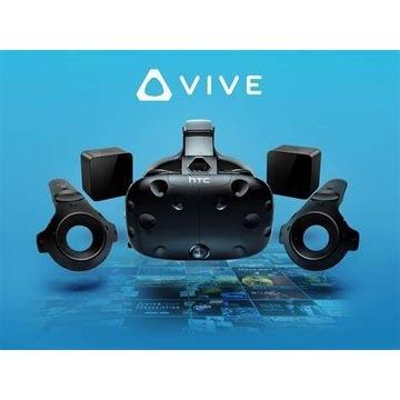 HTC VIVE VR (PEŁNY ZESTAW)