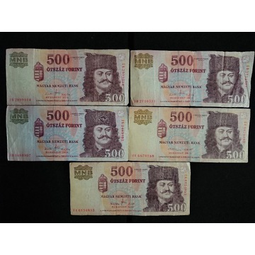 Węgry - 500 Forint