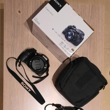 SONY Aparat CyberShot DSC HX 300 z torbą