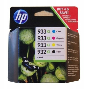 ZESTAW TUSZY HP 933  XL 932xl