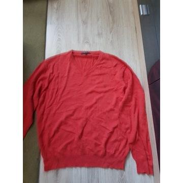 Sweter męski marki Gant czerwony rozmiar L