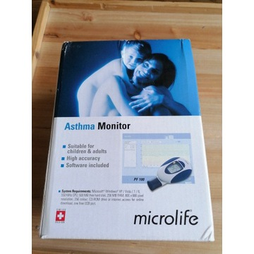 Monitor astmy microlife PF100 nowy