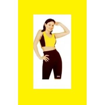 Szorty Spodnie Wyszczuplające neoprenowe M/L regul