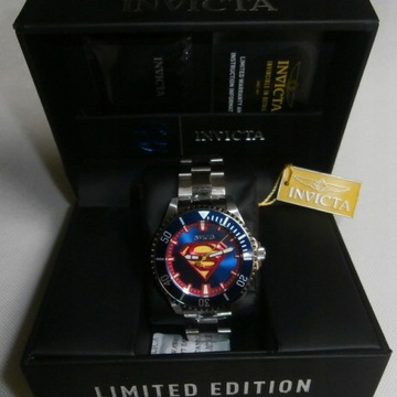 Zegarek INVICTA Superman Automatic USA orginal
