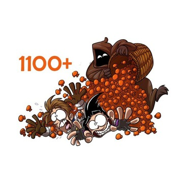 Grzybki 1100+ | Shakes And Fidget |