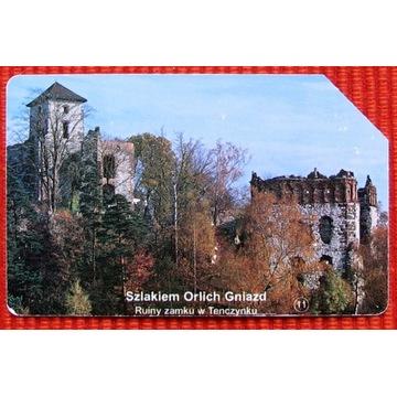 KT 668 - Ruiny zamku w Tenczynku