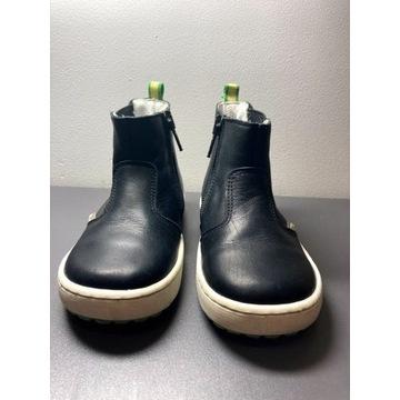 Buty skórzane marki Emel
