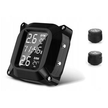 Monitor ciśnienia w oponach motocyklowych TPMS