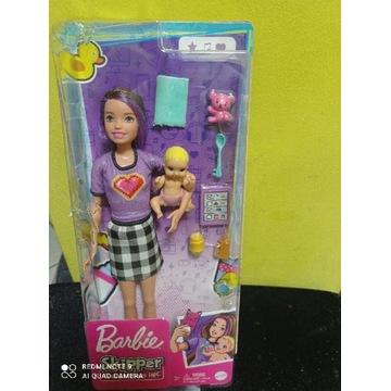 Lalka Barbie Skipper opiekunka dzieci