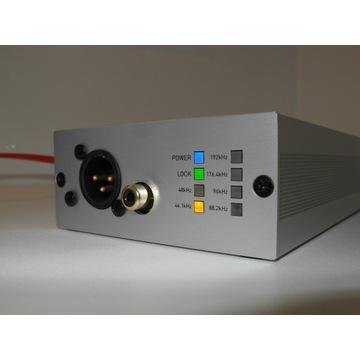 Musical Fidelity V-Link 192 usb XMOS dac konwerter