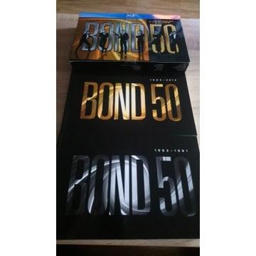 James Bond 007 24xBlu-ray Kompletny Zestaw Pl