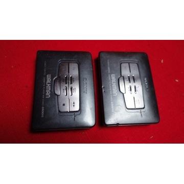 2 x sony  walkman vintage wm-ex660/662