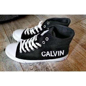 Długie tenisówki Calvin Klein