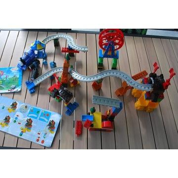 Dwa zestawy mega blocks Tomek i przyjaciele tory