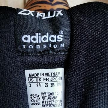 Adidas, wzory tygrysowe, roz. 35
