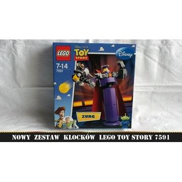 LEGO Toy Story 7591 Zbuduj Zurga NOWE