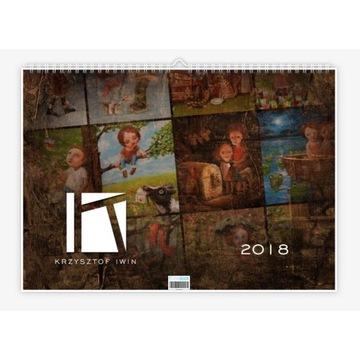 "Krzysztof Iwin - ""12 mies."" v.1 kalendarz autorski"